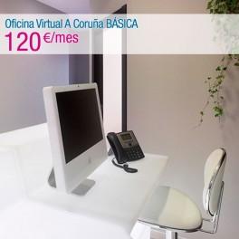 Oficina Virtual A Coruña BÁSICA (CONTRATO 1 AÑO + 2 MESES GRATIS)