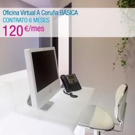 Oficina Virtual A Coruña BÁSICA (CONTRATO 6 MESES)